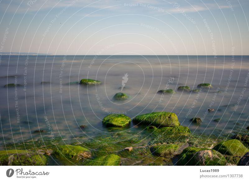 Urlaub in der Natur Himmel Ferien & Urlaub & Reisen Sommer Wasser Sonne Erholung Meer Landschaft Ferne Strand Umwelt Küste Freiheit Felsen Tourismus