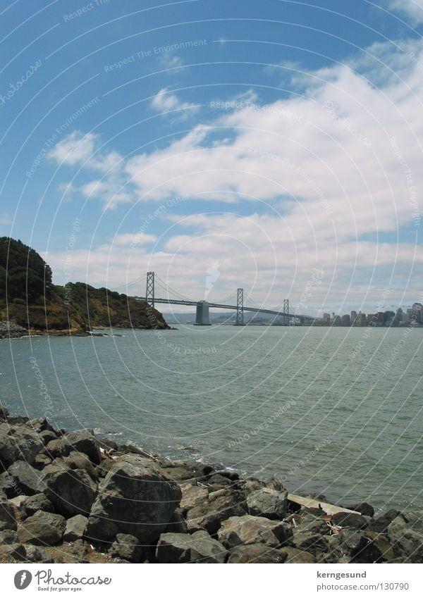 San Francisco-Oakland Bay Bridge Brücke USA San Francisco Hängebrücke Oakland