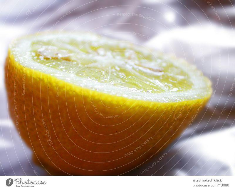 aufgeschnittene zitrone Dinge Zitrone Fruchtfleisch