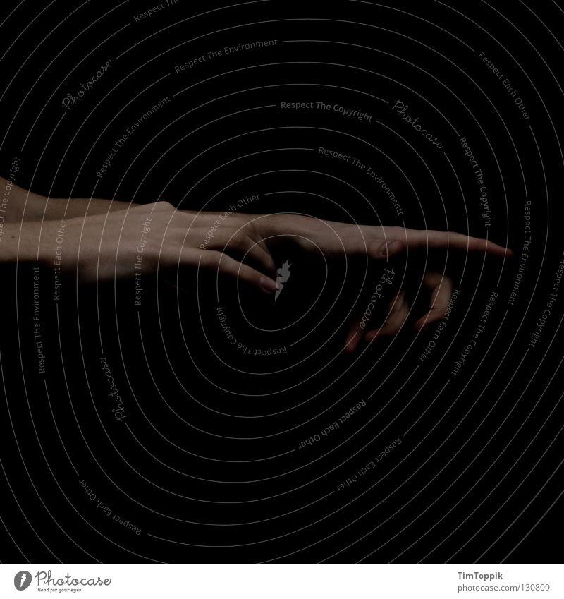 Herbert zum 100. Hand schwarz dunkel Musik Kunst Arme Finger Macht Kultur Show Konzert führen Stock Leitung Daumen Musikinstrument