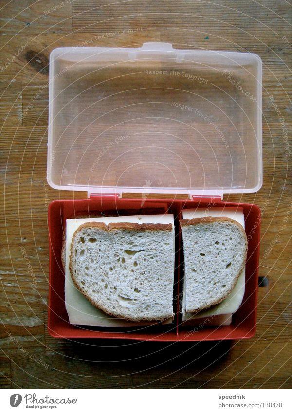 Designerfrühstück Belegtes Brot Käsebrot Vesper Speise Frühstück Abendessen Lebensmittel Ernährung Snack Mahlzeit Mittagessen Pause Weißbrot Schnittkäse