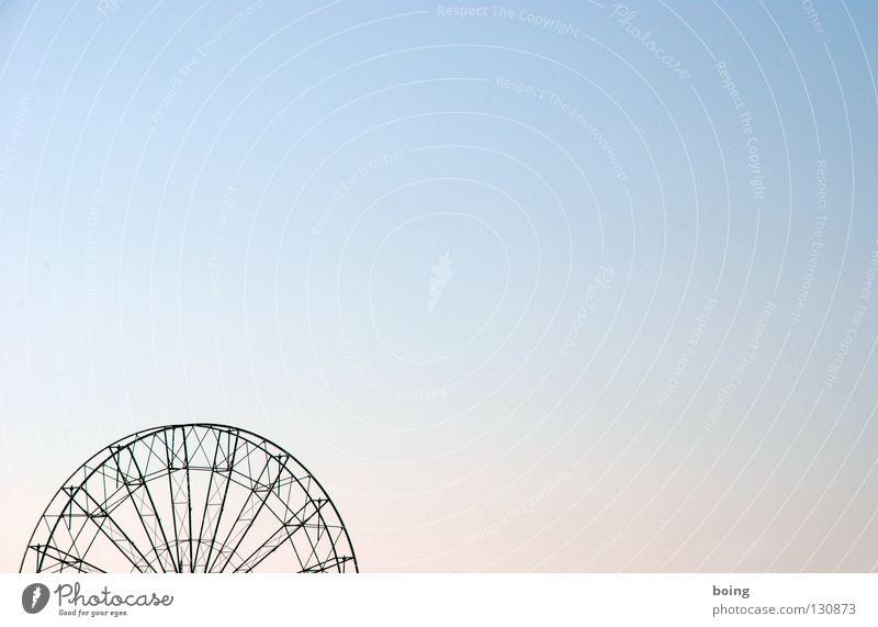 mein rechter, rechter Platz ist frei, da wünsc Ferien & Urlaub & Reisen Bewegung Freizeit & Hobby hoch Ausflug Schönes Wetter drehen Jahrmarkt Konstruktion Oktoberfest Demontage Riesenrad Funsport Speichen Oval Attraktion