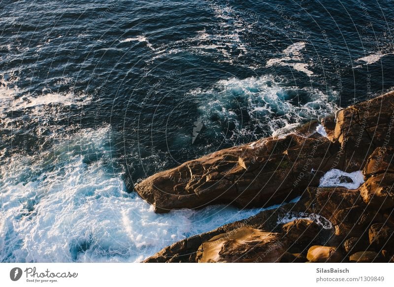 Fluss Wild Natur Ferien & Urlaub & Reisen Wasser Meer Landschaft Ferne Umwelt Küste Freiheit Erde Tourismus Kraft Wellen ästhetisch Insel Ausflug