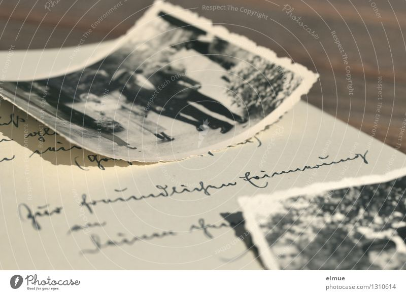 Zur Erinnerung alt Einsamkeit Senior Gefühle träumen Kindheit Fotografie Vergänglichkeit einzigartig Papier Romantik Neugier historisch Trauer Vergangenheit entdecken