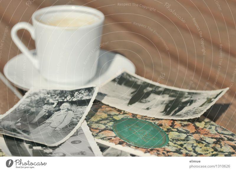 Poesie in Wort und Bild Espresso Tasse Poesiealbum Fotografie poetisch Roman alt historisch einzigartig Originalität Romantik dankbar Traurigkeit Schmerz Trauer