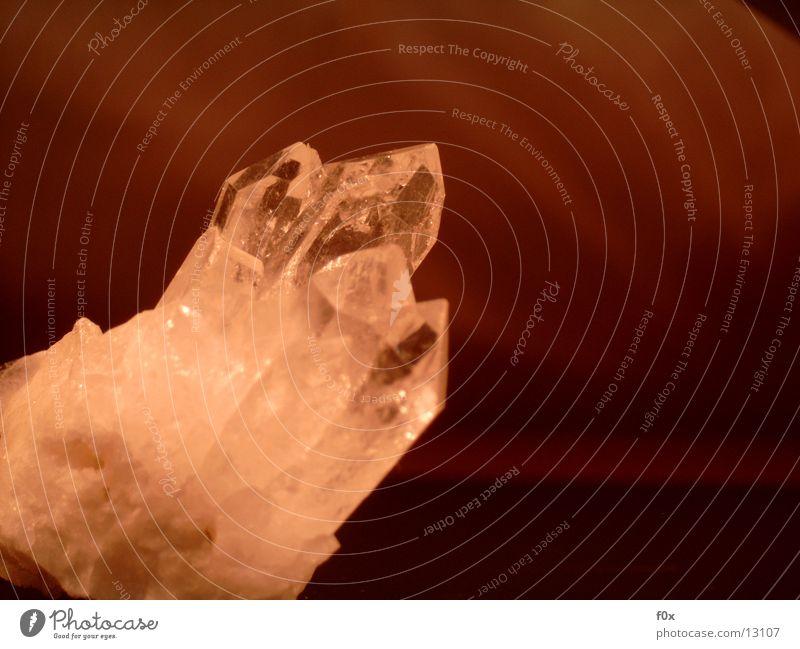 Bergkristall I Stein Kristallstrukturen Mineralien Edelstein