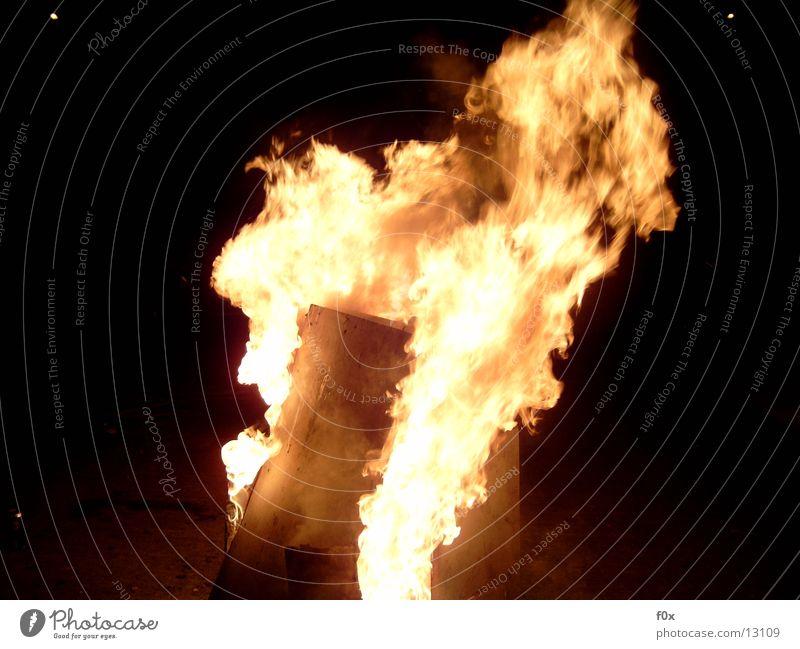 Feuer und Flamme III Nacht Romantik Glut Freizeit & Hobby Brand Holzverbrennung Feuerstelle Wärme