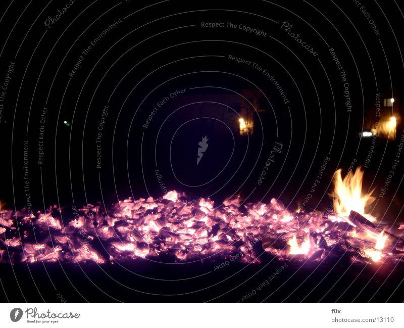 Glut am Abend Brand Freizeit & Hobby Flamme