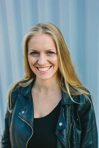 Großes Lächeln II Mensch Frau Jugendliche schön Junge Frau 18-30 Jahre Erwachsene natürlich feminin Stil Haare & Frisuren Lifestyle Mode elegant blond Erfolg