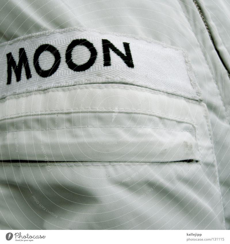 1969 weiß Sommer Leben Erde Zukunft Technik & Technologie USA Ziel Beruf Wissenschaften Anzug Jacke Weltall Mond Tasche