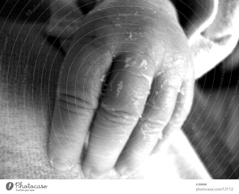 Marlas Hand Baby Finger Kinderhand