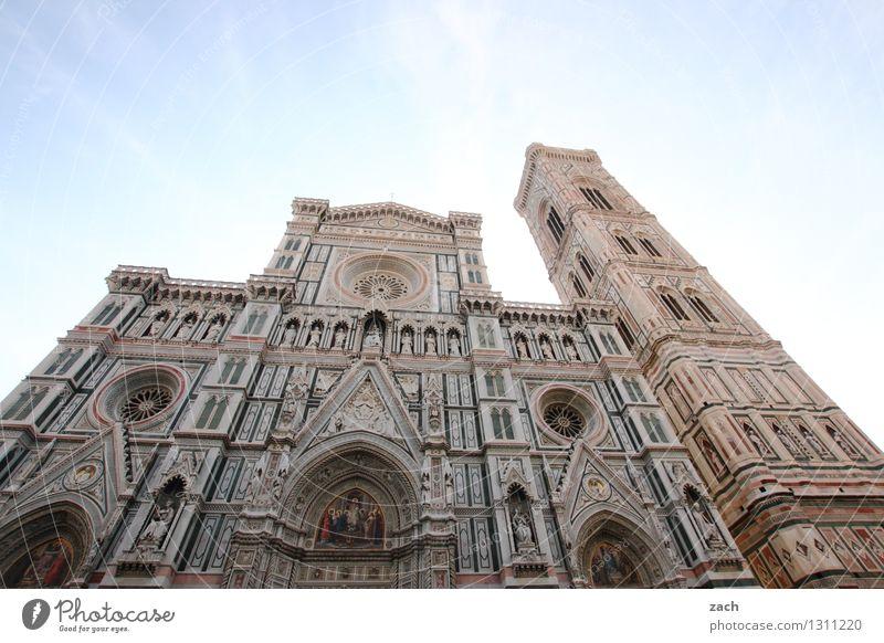 Cattedrale di Santa Maria Assunta Stadt blau Haus Architektur Gebäude Mauer Religion & Glaube Fassade Häusliches Leben Platz Kirche Italien Turm historisch