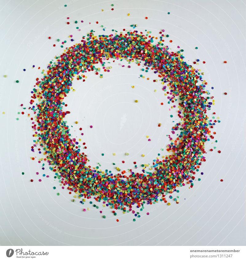 Creative Universe klein Kunst Design ästhetisch Kreativität Kreis Idee Punkt Unendlichkeit Weltall viele Gemälde Basteln Symmetrie Kunstwerk Konfetti