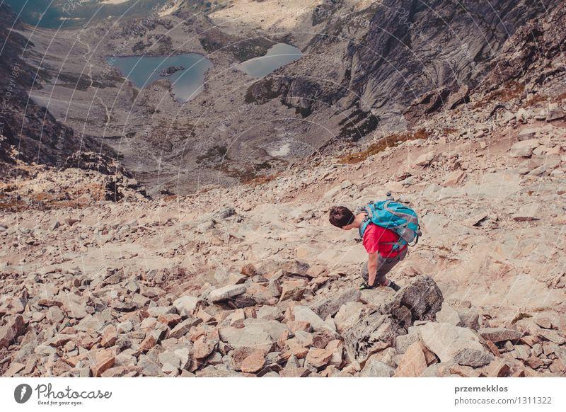 Wanderung in der Tatra Mensch Natur Ferien & Urlaub & Reisen Jugendliche Sommer Junger Mann Landschaft Freude Berge u. Gebirge Freiheit Lifestyle Felsen