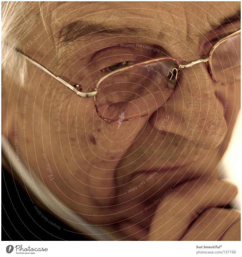 großvaters fabelhafte welt° Senior Denken Stimmung Gesundheit Vergänglichkeit Mensch Konzentration Großvater