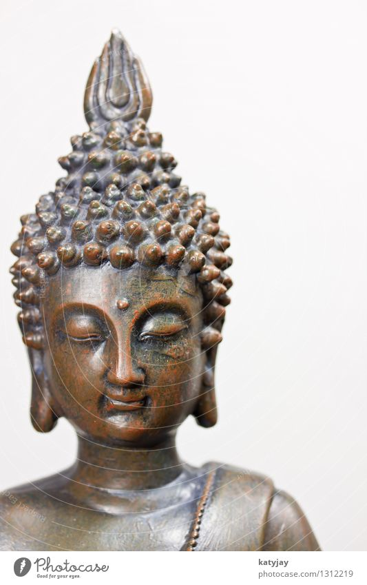 Buddha Mensch Erholung ruhig Gesicht Religion & Glaube Kunst Kopf Kraft Körper Kultur Wellness Verstand Frieden Asien