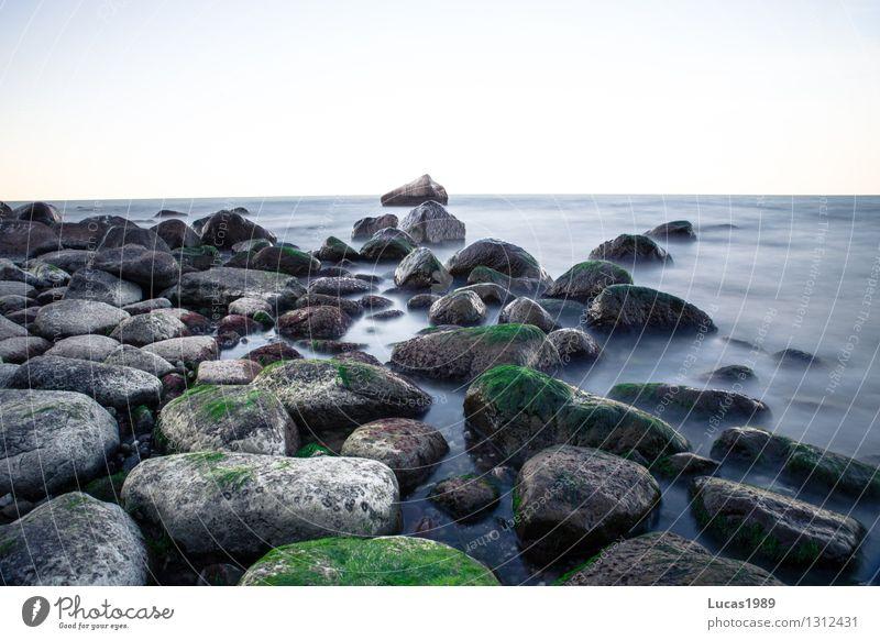 Steinstrand Gesundheit Leben harmonisch Sinnesorgane Erholung Meditation Ferien & Urlaub & Reisen Tourismus Ausflug Abenteuer Ferne Freiheit Kreuzfahrt