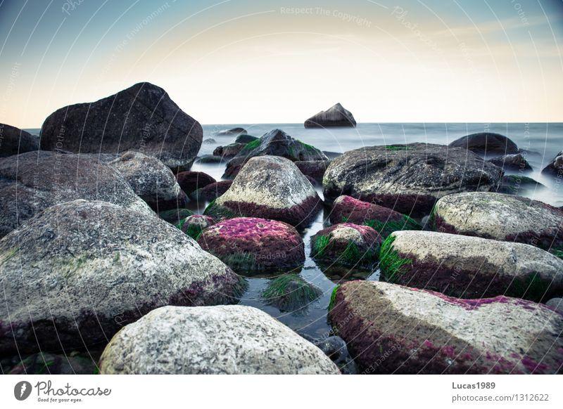 Steinchen Himmel Natur Ferien & Urlaub & Reisen Sommer Wasser Sonne Meer Landschaft Ferne Strand Umwelt natürlich Küste Freiheit außergewöhnlich Felsen