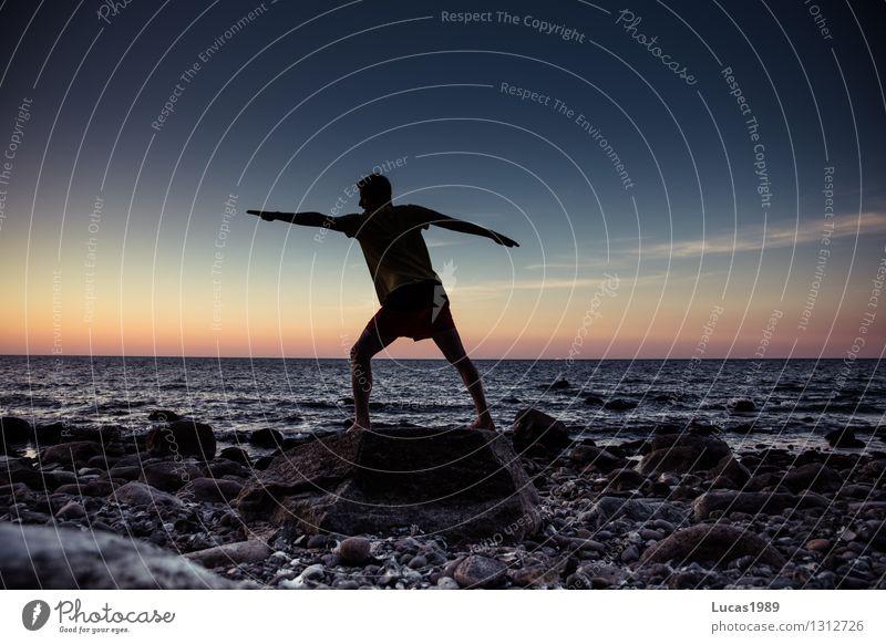Krieger Wellness harmonisch Wohlgefühl Zufriedenheit Sinnesorgane Erholung ruhig Meditation Ferien & Urlaub & Reisen Ausflug Freiheit Expedition Strand Meer