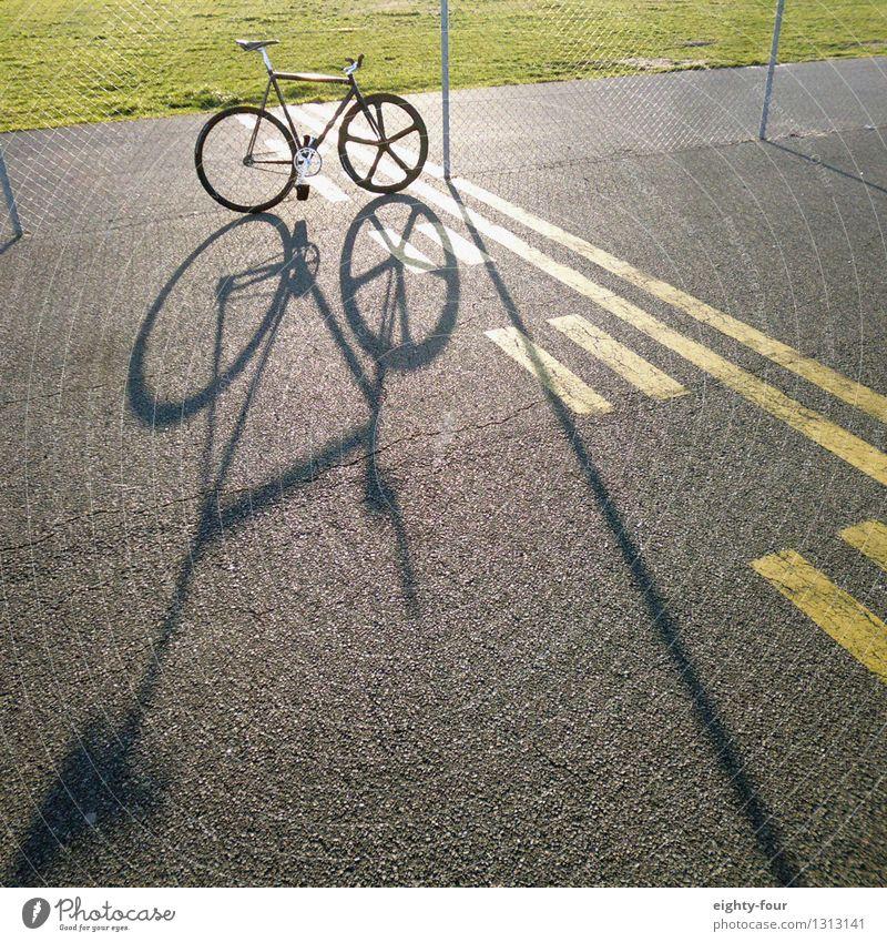 Schattenfixie Stadt Sommer Freude Sport Lifestyle Stein Zufriedenheit Freizeit & Hobby Kraft Fahrrad Beton Fitness Schönes Wetter fahren sportlich Leidenschaft