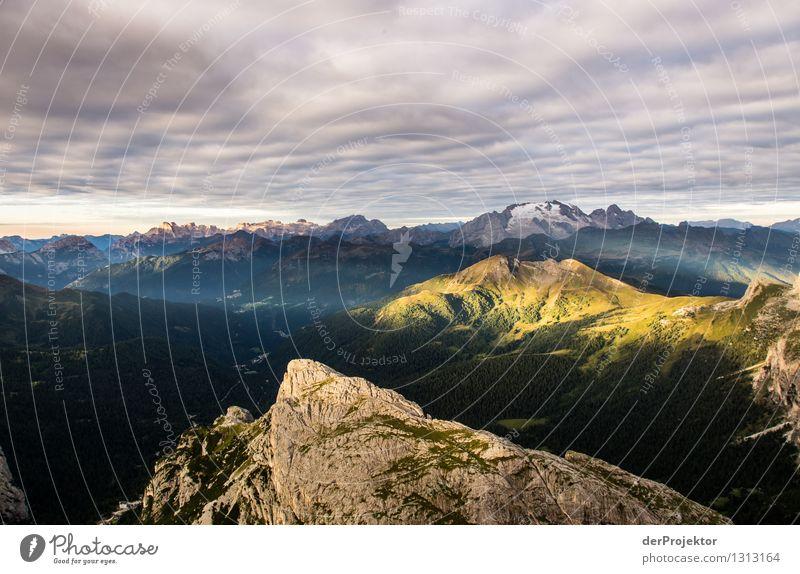 Geküßt vom Morgen Ferien & Urlaub & Reisen Tourismus Ausflug Abenteuer Ferne Freiheit Berge u. Gebirge wandern Umwelt Natur Landschaft Pflanze Sommer