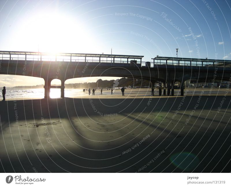 Beach gate Mensch Himmel Meer Strand Erholung Gate Flughafen