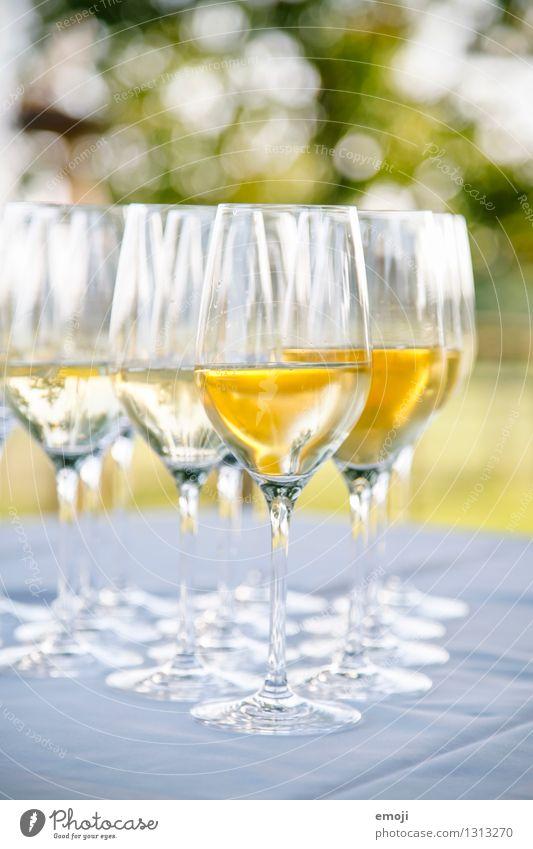 drinks Getränk Alkohol Wein Sekt Prosecco Champagner Glas Sektglas lecker süß Feste & Feiern Farbfoto Außenaufnahme Menschenleer Tag Schwache Tiefenschärfe