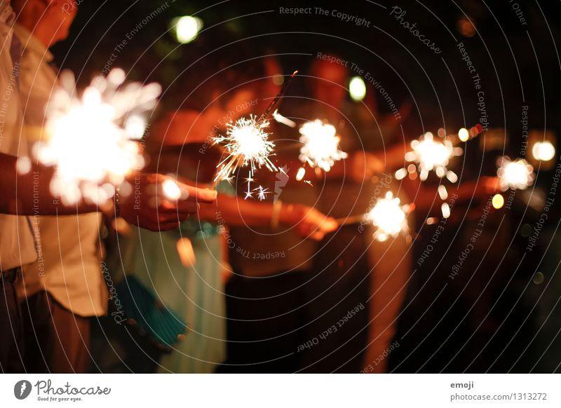 glitzern Hand Feste & Feiern Lebensfreude Hochzeit Kerze Kitsch Wunderkerze Krimskrams
