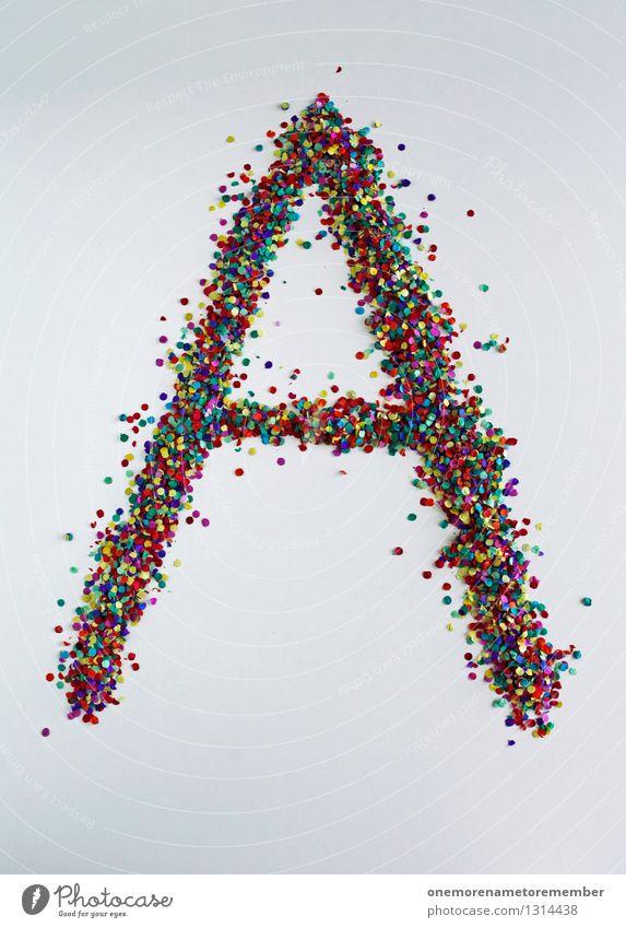 A wie: Arschbombe Kunst Design ästhetisch Kreativität Buchstaben Typographie Kunstwerk gestalten Buchstabensuppe gebastelt Designwerkstatt Designmuseum