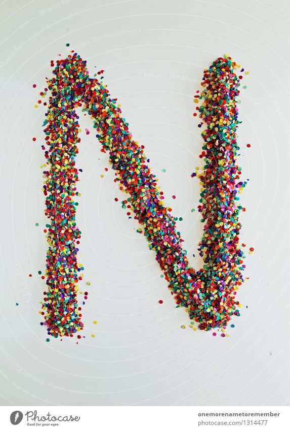 N wie: Napoleon Hill Kunst Kunstwerk ästhetisch Buchstaben Typographie Kreativität gestalten Design Designwerkstatt Designmuseum viele Farbfleck Punkt Mosaik