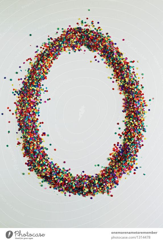 O wie: Oblade Kunst Kunstwerk ästhetisch o Ostern Osternest Buchstaben Typographie mehrfarbig Design Designwerkstatt Designmuseum viele Farbfleck Konfetti