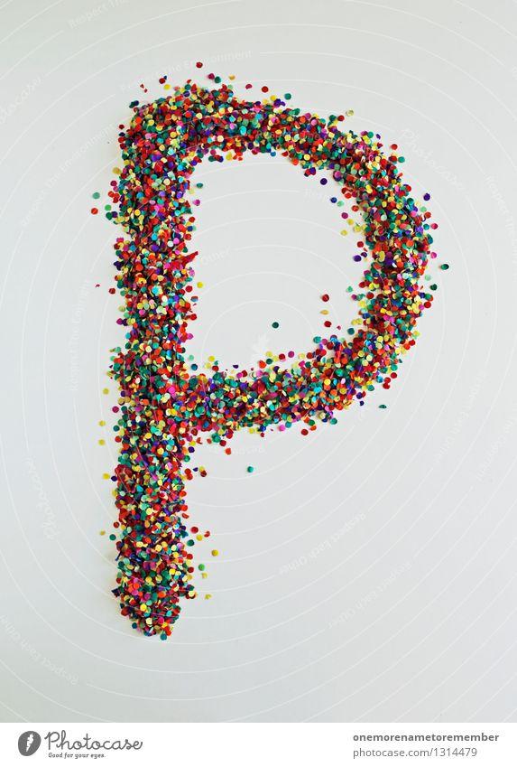 P wie: enis Kunst Design ästhetisch Kreativität Buchstaben Typographie Kunstwerk Konfetti Penis Designwerkstatt Designmuseum