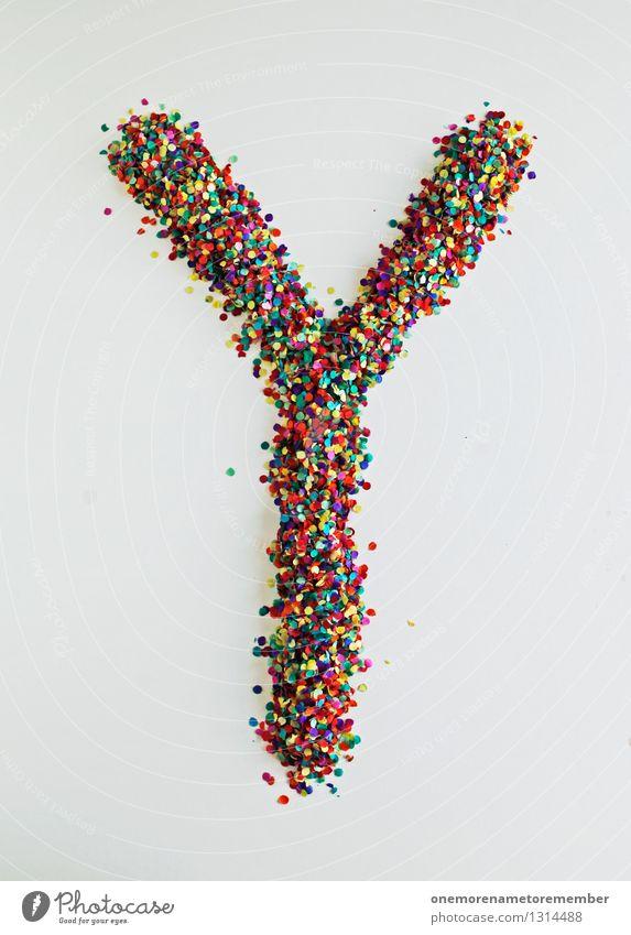 Y wie: Weiblich Kunst Kunstwerk ästhetisch Buchstaben Typographie feminin Kreativität Design Designwerkstatt Designmuseum viele mehrfarbig Schriftzeichen Mosaik