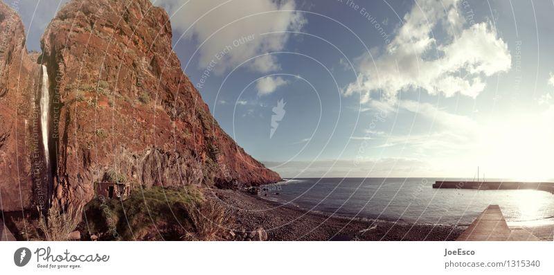 #1315340 Ferien & Urlaub & Reisen Tourismus Ausflug Abenteuer Ferne Freiheit Sonne Strand Meer Natur Landschaft Himmel Wolken Berge u. Gebirge Wasserfall