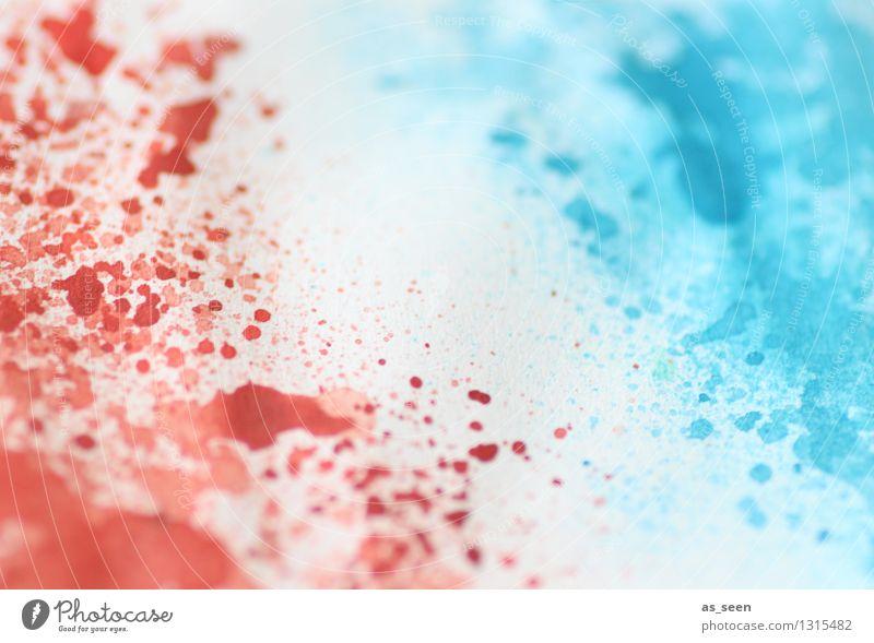 L'esprit français blau Farbe weiß rot Leben Design Freizeit & Hobby frisch Fröhlichkeit Papier malen Freundlichkeit Tropfen Bildung Fahne harmonisch