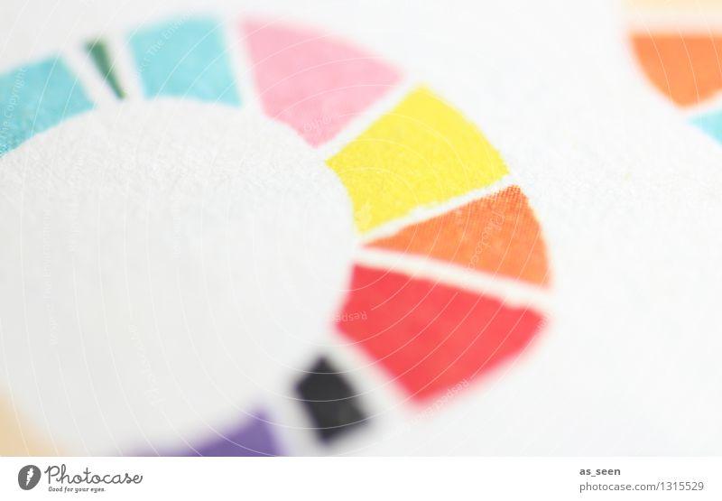 Kreisbunt Wellness Leben harmonisch Sinnesorgane ruhig Meditation Freizeit & Hobby Basteln Kindererziehung Kunst Kunstwerk Papier Farbenspiel ästhetisch