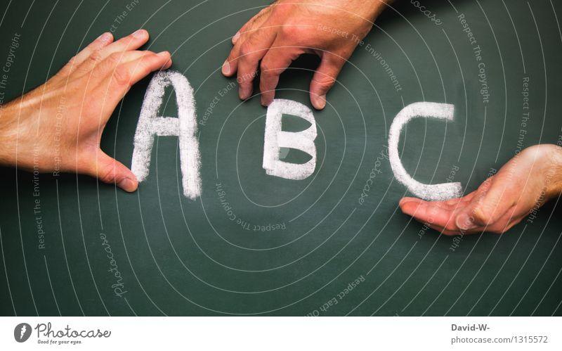 ABC Mensch Kind Mann Hand Erwachsene Leben Stil Kunst Schule maskulin Kindheit Kreativität lernen Zukunft lesen Buchstaben