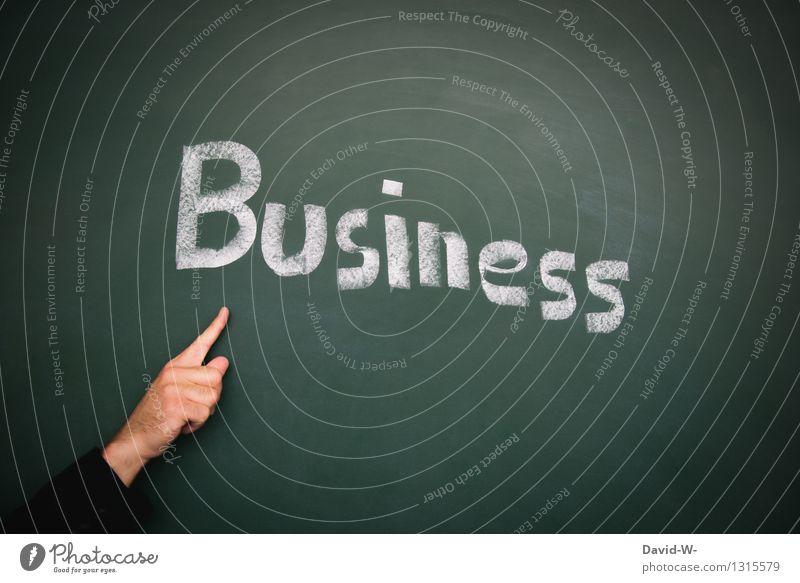 Business Lifestyle elegant Erwachsenenbildung Klassenraum Tafel lernen Geldinstitut Mittelstand Unternehmen Karriere Erfolg Team Mensch maskulin Leben Hand