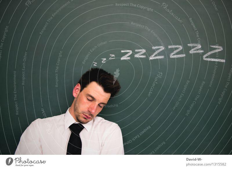 eingeschlafen Mensch Jugendliche Mann Junger Mann ruhig 18-30 Jahre Erwachsene Leben Lifestyle Business maskulin Zufriedenheit träumen lernen Erwachsenenbildung