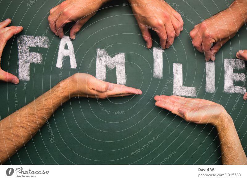 Familie Mensch Hand Leben Liebe Gefühle Glück Familie & Verwandtschaft Lifestyle Kunst Schule Zusammensein Business Fröhlichkeit Kreativität Lebensfreude einzigartig