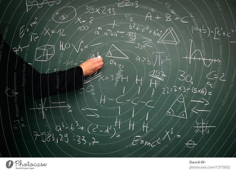 Bildung Wissenschaften Erwachsenenbildung Schule lernen Klassenraum Tafel Schüler Lehrer Berufsausbildung Student Prüfung & Examen Mensch maskulin Junger Mann