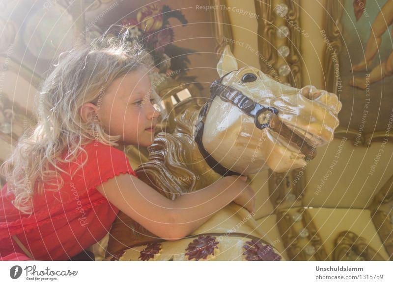 Chez Caramel II Mensch Kind Freude Mädchen Leben Gefühle Glück Stimmung Freizeit & Hobby elegant Idylle gold Kindheit ästhetisch Lebensfreude niedlich