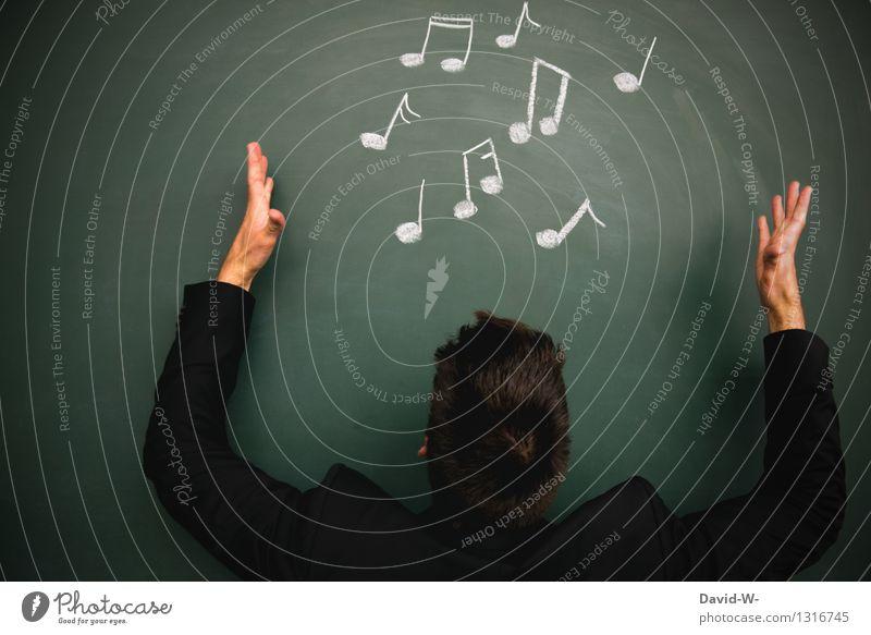Musik Mensch Jugendliche Mann Junger Mann Freude Erwachsene Leben Feste & Feiern Kunst maskulin elegant Geburtstag Lebensfreude Student harmonisch