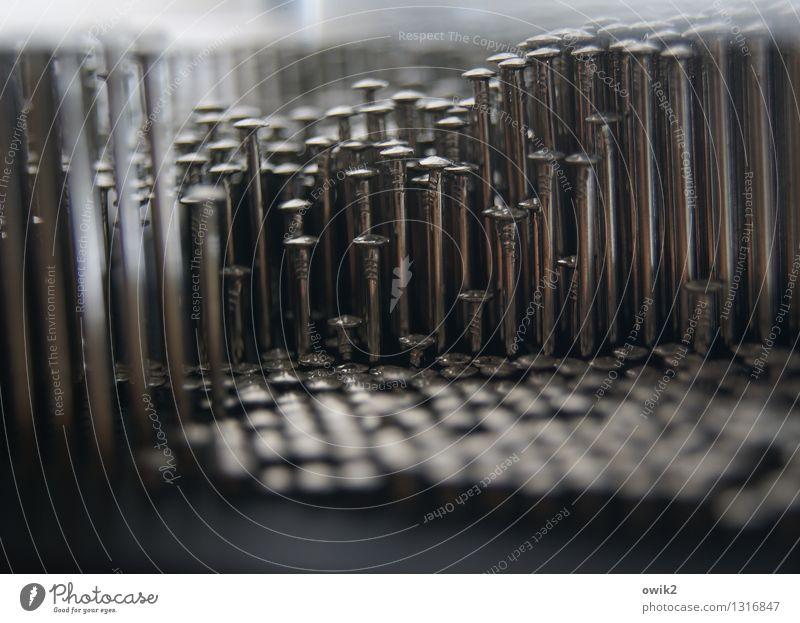 Nagelstudio Metall Design viele fest Verschiedenheit
