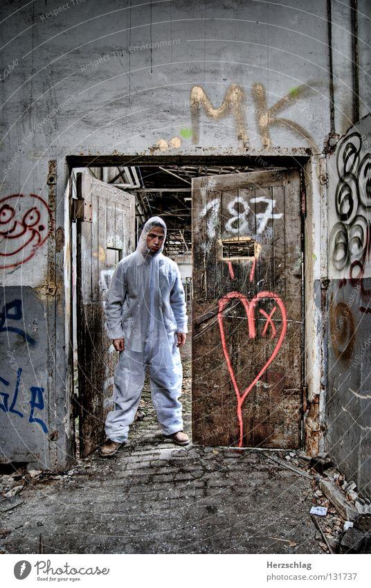187 weiß dunkel Herz dreckig Tür Suche Körperhaltung Ziffern & Zahlen Müll Spuren verfallen Anzug Kontrolle Blut Genetik Versuch