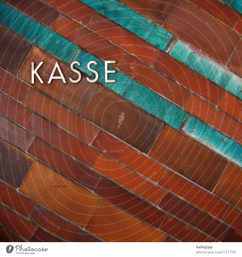 kassensturz Schlagwort Typographie graphisch Kredit Kasse Großbuchstabe