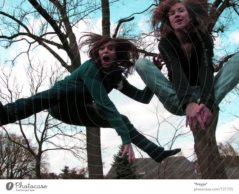 penkefitz Stadt Freude springen Trampolin
