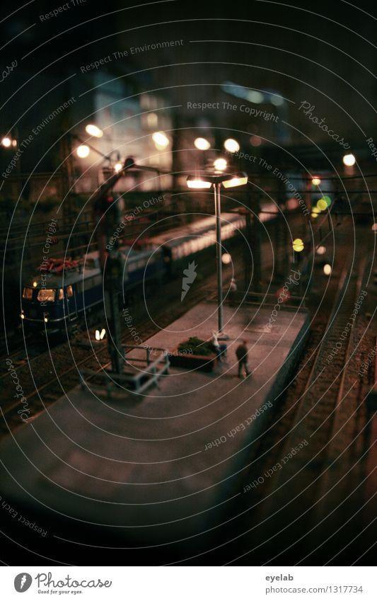 Die Bahn geht - Jonny Walker kommt Mensch Ferien & Urlaub & Reisen Stadt Haus dunkel braun Freizeit & Hobby Verkehr Technik & Technologie Eisenbahn Kunststoff