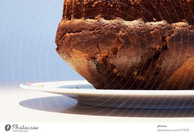 Hauptgang Freude Ernährung braun Feste & Feiern Geburtstag Speise süß gut Kochen & Garen & Backen zart trocken Teile u. Stücke Dienstleistungsgewerbe Kuchen