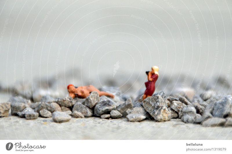Akt - Klappe die fünfte - die Fotografin im Steinbruch feminin Junge Frau Jugendliche Erwachsene Leben Körper Haut 2 Mensch 18-30 Jahre 30-45 Jahre sitzen